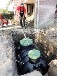 006.Realiseren Waterreservoir-drainage