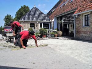 012.Realiseren betonklinker oprit