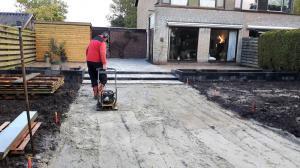 001.Een goed verdicht zandbed geeft kwaliteit